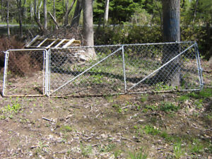 12 foot Chain link fence and Gate