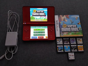 Super Mario Bros 25th anniversary dsi xl