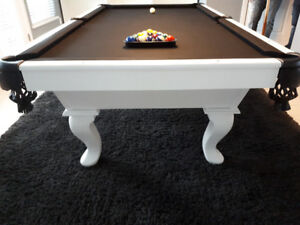 CUSTOM POOL TABLES MADE LOCALLY IN MAPLE RIDGE, BC