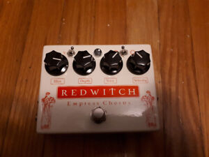 Red Witch Empress Chorus Guitar Effects Pedal