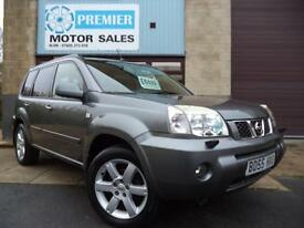 NISSAN X-TRAIL 2.2dCi 136 AVENTURA, SAT NAV, FULL HEATED LEATHER SEATS, CRUISE +