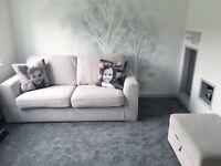 Sofa with Storage Footstool
