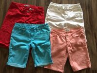 4 pairs of shorts