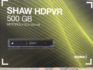 Shaw HD PVR Motorola cable box