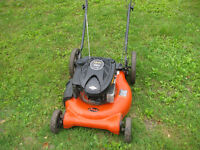 ariens push mower,and mtd self propelled