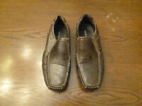 Spring men's brown loafers - size 41 (8.5)