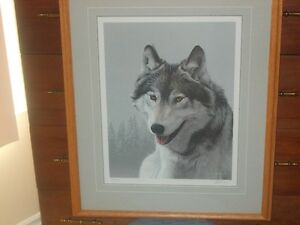 WOLF PORTRAIT by RON PARKER