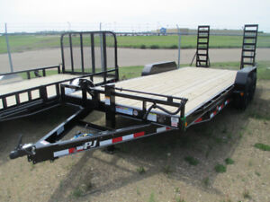 "20' X 6"" PJ EQUIPMENT TRAILER (CC) - NEW"
