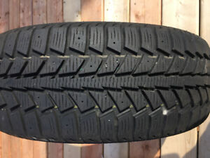 Once-Used Winter Tires