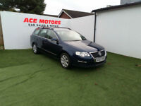 2007 57 VOLKSWAGEN PASSAT 2.0 TDI DSG SE ESTATE,128000 WITH FULL SERV HISTORY