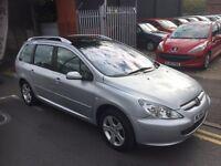 Peugeot 307 1.6 petrol estate low miles clean