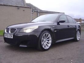 2005 BMW 5 SERIES 5.0 M5 4D AUTO 501 BHP