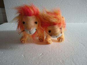 Set of 2 TY Bushy the Lion plush toy collectible Beanie baby NEW London Ontario image 8