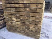 🌲High Quality Feather Edge Tanalised Timber Fencing Pieces/Panels • Various Sizes🌲