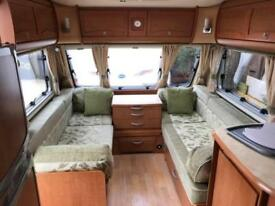 2007 Bessacarr Cameo 625 4 Berth caravan FIXED BED, MOTOR MOVER, AWNING BARGAIN!