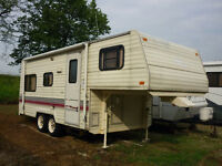 Package deal Trailer 5th wheel and F150 Truck