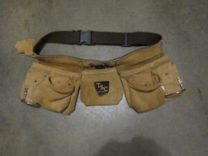 Leather tool belt for sale.