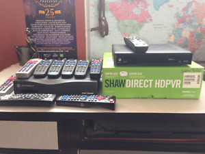 Shaw receivers and remotes