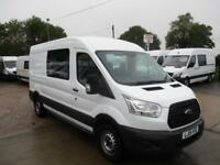 2015 15 reg FORD TRANSIT L3 H2 MESS VAN MESSING UNIT WELFARE TOILET VAN 29k ONLY