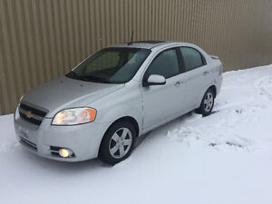2010 Chevrolet Aveo 2 LT man toit Berline