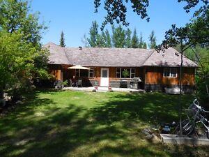 Very private home in Vanderhoof on 0.36 acre lot