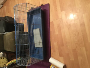 Large Rabbit Cage with accessories