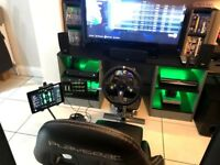 Playseat Evolution, Logitech G920 and Extras