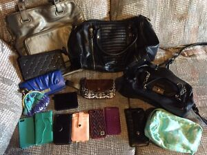 ASSORTED GIRLS BAGS, BACKPACKS, PHONE CASES AND MORE