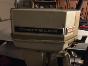 20 Hp Chrysler Outboard Motor