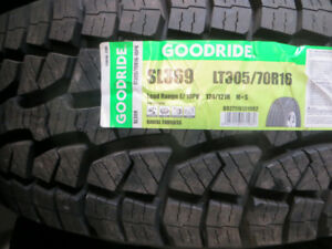 4 P265/70R17 NEW ALL TERAIN TIRES $504.00  FOR ALL 4