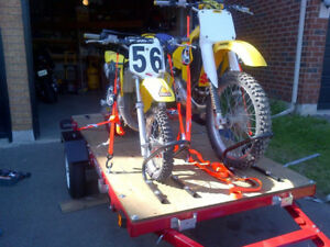 Folding Motorcycle Trailer for Sale