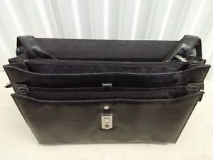 Leather Briefcase with Adjustable and Detachable Shoulder Strap Peterborough Peterborough Area image 4