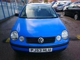 Volkswagen Polo 1.4 ( 75bhp ) S 3 DOOR - 2003 53-REG - FULL 12 MONTHS MOT