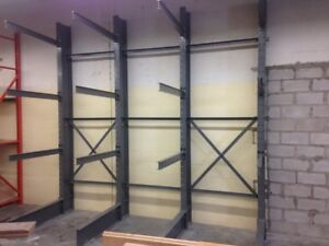 We stock new cantilever racking - Large Inventory