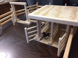 Hand Crafted - Corral Farm Toys