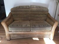 High quality Cane/Wicker Conservatory Furniture. - pre owned