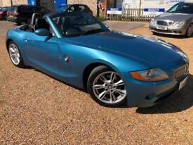 2003 '03' BMW Z4 3.0i Sports Convertible Cabriolet. Roadster. Manual. Px Swap