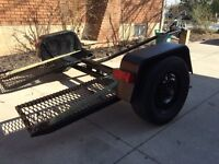 Swivel car dolly with winch Make yourself money!!