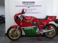 1985 DUCATI MIKE HAILWOOD REPLICA 1000cc IN GREAT FANTASTIC RESTORED CONDITION