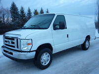 2011 Ford E-SERIES E-250 Extended Cargo Van, LOW LOW KMS!!