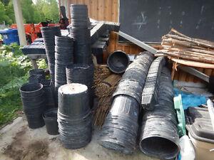 Gardening pots, pots and more pots - CHEAP