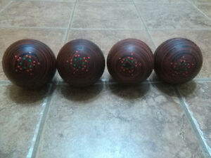 Candle pin bowling balls for sale.