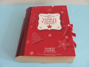 Set 12 DAYS OF A YANKEE CANDLE CHRISTMAS 12 VOTIVES in BOX