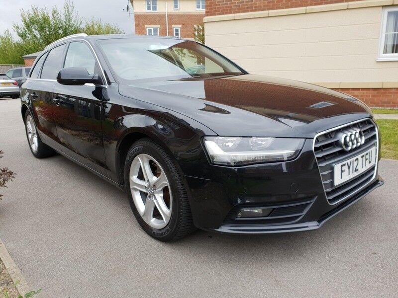 timeless design 1da94 1ea3f Audi A4 AVANT TDI SE (black) 2012