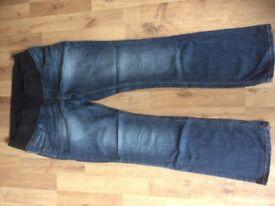 Next maternity jeans size 10