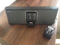 Portable Sony sound dock
