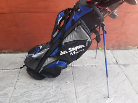 Mixed set of Golf Clubs and Bag Ben Sayer Wilson