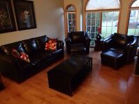 Entire living room set including coffee and end tables $1500 OBO
