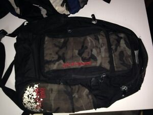 Dakine skateboard knapsack basically new $70