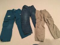 Boy's trousers age 3-4 years